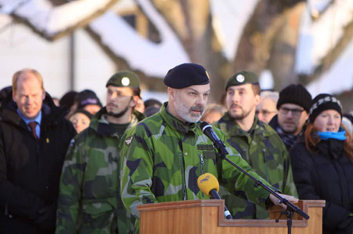 "Swedish Military should be prepared for ""Third World War""- Swedish Military Chief"