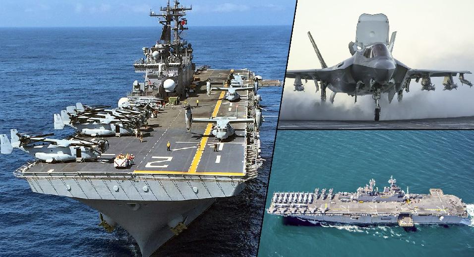 सिरियावरून रशियाने दिलेल्या धमकीच्या पार्श्वभूमीवर 'एफ-35'ने सज्ज अमेरिकी युद्धनौका आखातात दाखल