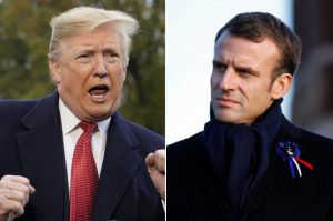 'European Army', protect, Emmanuel Macron, Donald Trump, European Union, arms treaty, Paris, Iran