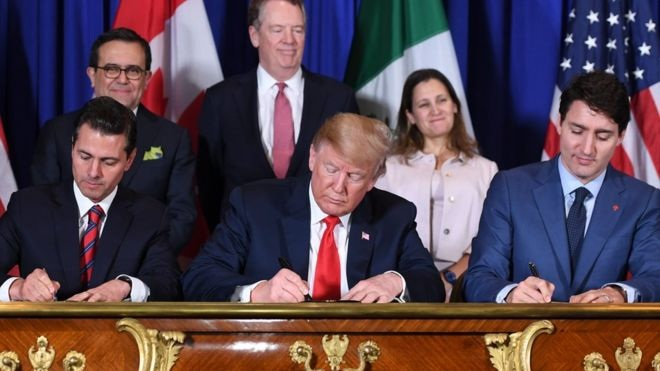USMCA: US-Canada-Mexico ink a new trade deal